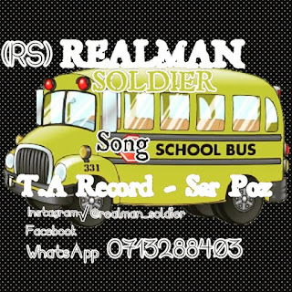 Real Man Soldier - School Bus