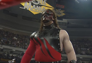 WWE / WWF Wrestlemania 15: Kane battled Triple H