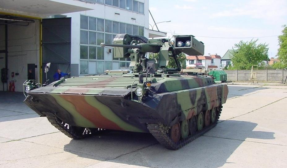 Башта RCWS-30 на дослідному зразку модернізованої в Польщі БМП-1