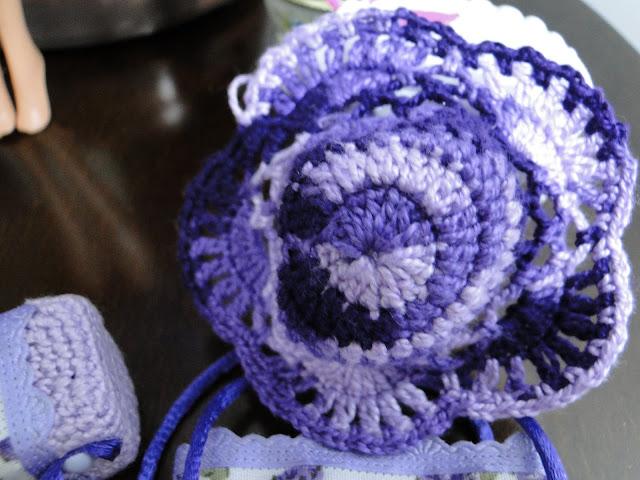 Chapeu de Crochê para Barbie criado por Pecunia Milliom