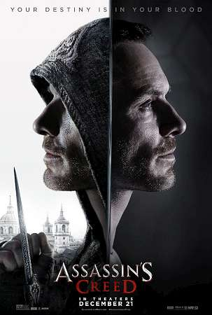 Assassins Creed 2016 Dual Audio HC HDRip 480p 200mb HEVC x265