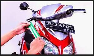 Cara Memasang stiker pada body motor