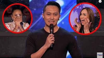 INILAH RAHASIA... Trik Sulap Demian Di America's Got Talent. Kerreenn....