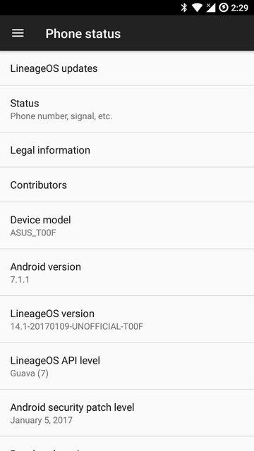 Install LineageOS on Zenfone 5