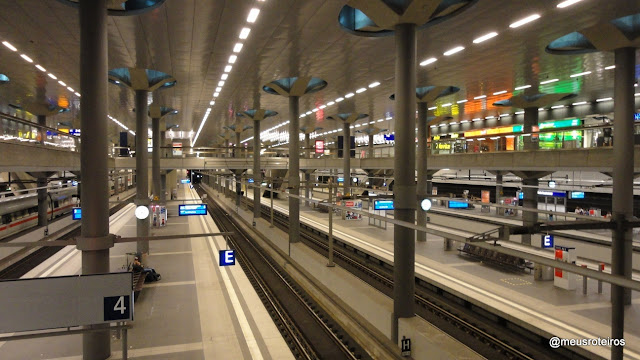 Estação Hauptbahnhof - Berlim