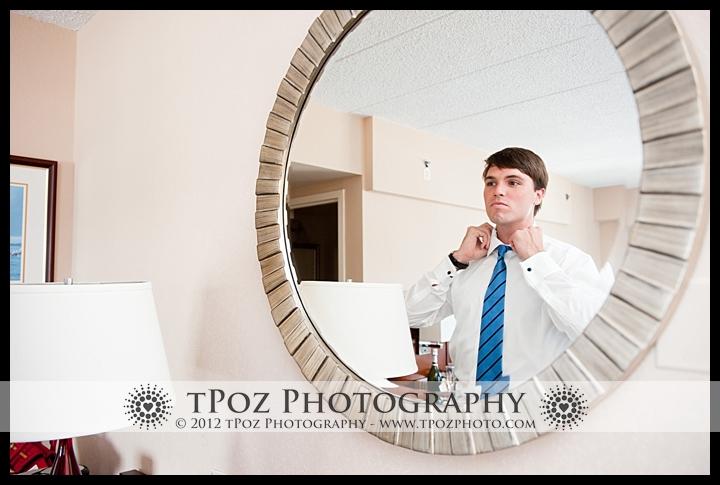 Wedding Prep at Annapolis Marriott