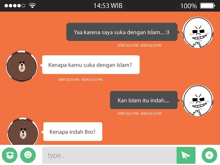 Chatting 1 - Contoh Penggunaan Perasaan