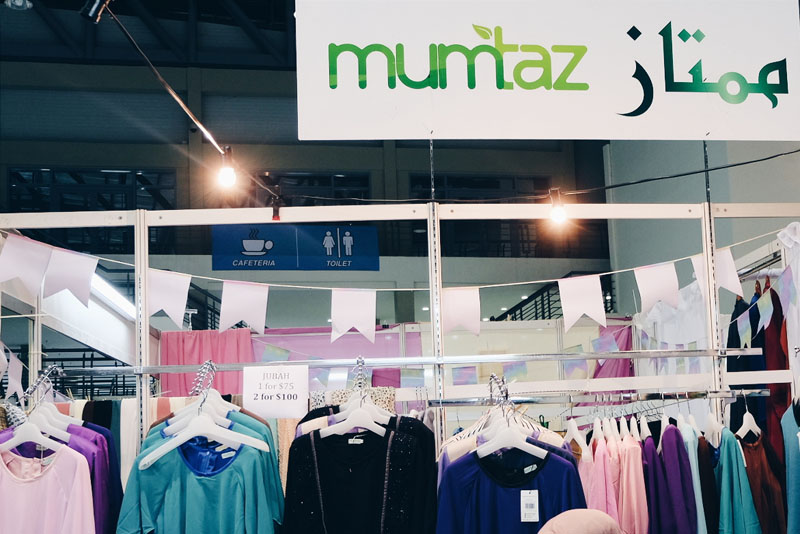 Mumtaz Collections Booth from BIFASH