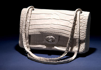 87de4b103bb0 The Chanel Diamond Forever Classic Bag was adorned with 3.56 carats made up  of 334 diamonds
