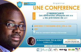 CONFERENCE SUR LA CYBERSECURITE : LES TENDANCES DES ATTAQUES EN 2018 ET LES PREVISIONS EN 2019