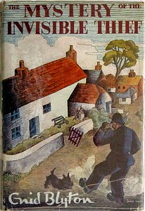 The Mystery of the Invisible Thief by Enid Blyton 1956