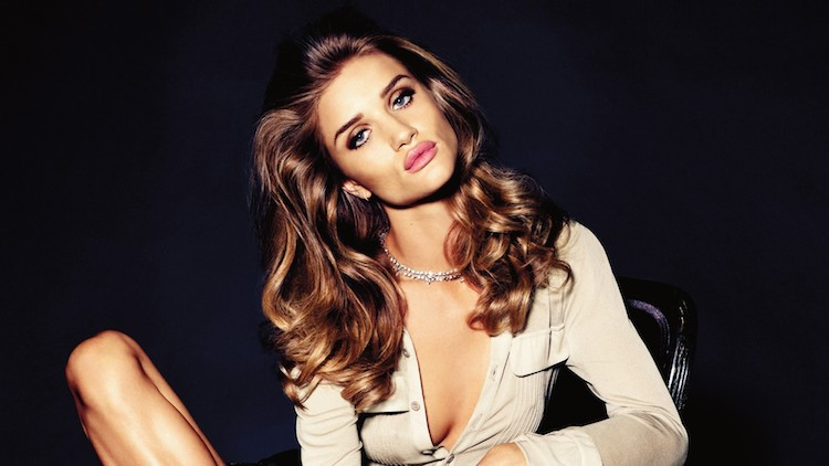 rosie huntington hair