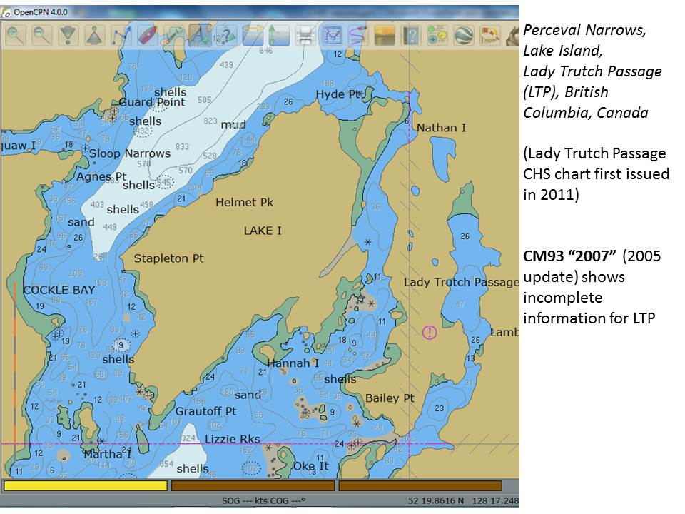 Sailing Pelagia: What year are your CM93 electronic charts? Make