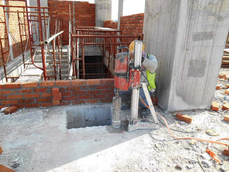 Concrete Coring