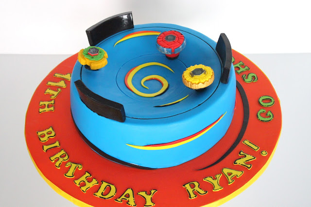 Metal Fight Beyblade Cake