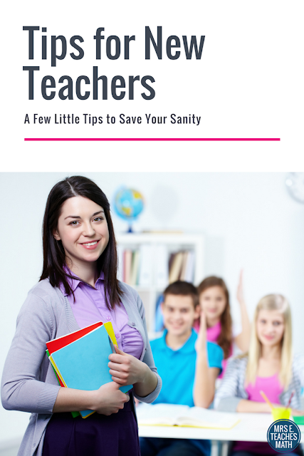 Are you a new teacher?  These tips and advice will help you get your classroom started on the right foot!