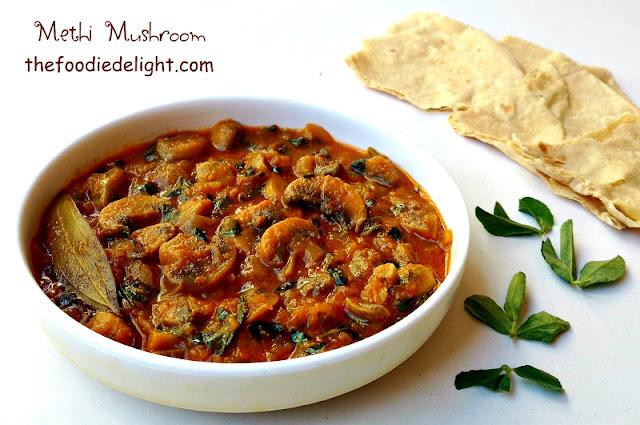 methi-mushroom-sabzi-recipe