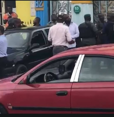 Governor Wike's Aide Attacked By SARS Operatives In Rivers (Photos/Video)