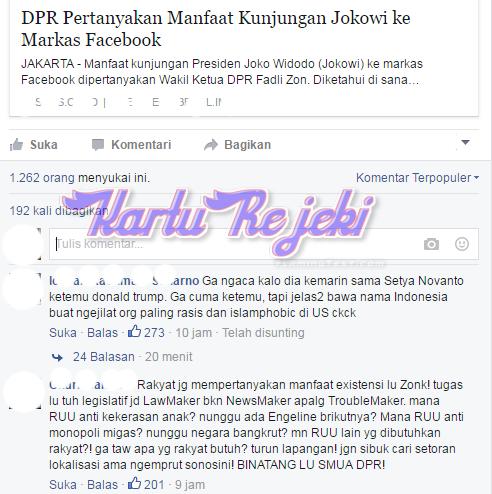 DISINI DAFTAR KARTUREJEKI: Wakil ketua umum DPRD