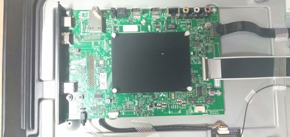 Skyworth 49E6, 49E6D, 49E3, 49E3D, 43E6, 43E6D, 43E3, and 43E3D model mainboard