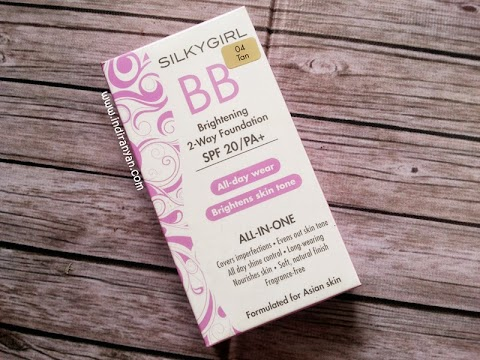 [REVIEW] Silky Girl : BB Brightening 2 Way Foundation - 04 Tan