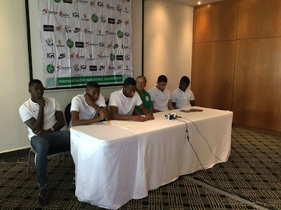 Coach Gernot Rohr, Captain Mikel Obi and others engage in media chat ahead of Tanzania clash (photos)