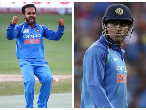 Kedar Jadhav lauds MS Dhoni's guidance