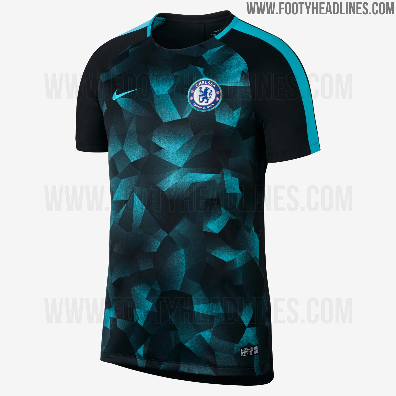 Nike Chelsea 17 18 Champions League Training Jersey