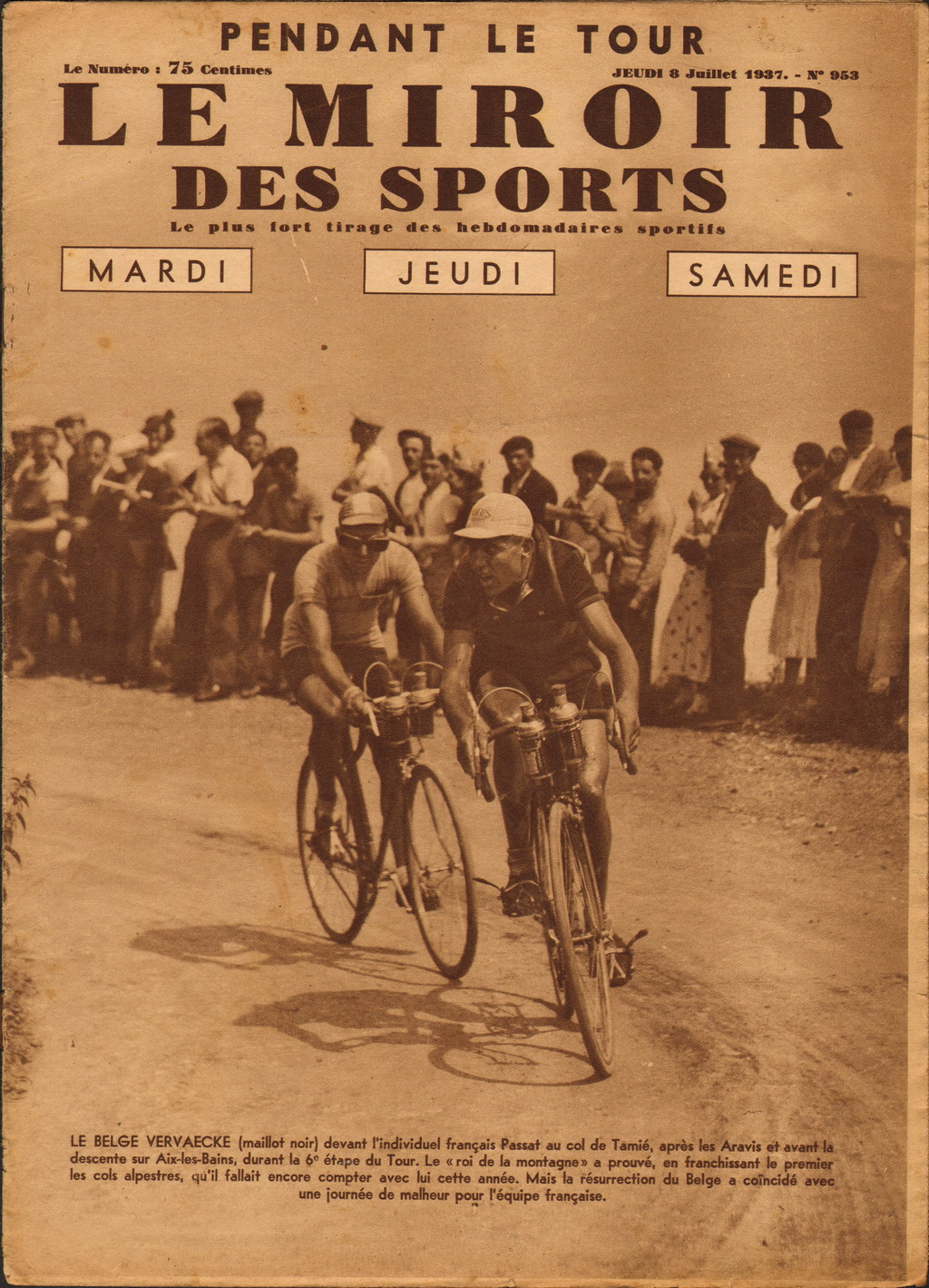 Lightweight classics cycling gadgets literature for the for Le miroir des sports