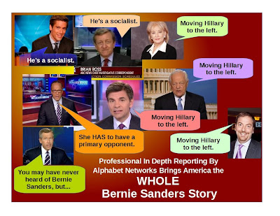 Network pundits' talking points dismissing Sanders candidacy
