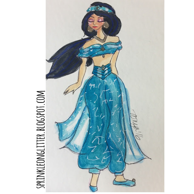 Sprinkle On Glitter Blog// Disney Princess//Jasmine