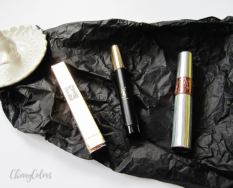 YSL Eyeliner and lip oil