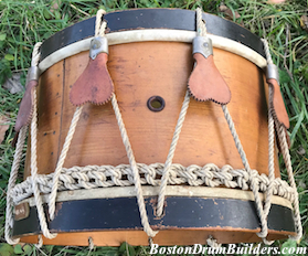 1880 Haynes Rope Tension Snare Drum