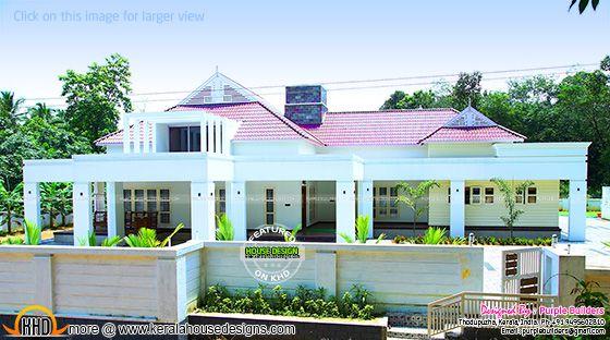 Beautiful finished house in Kerala