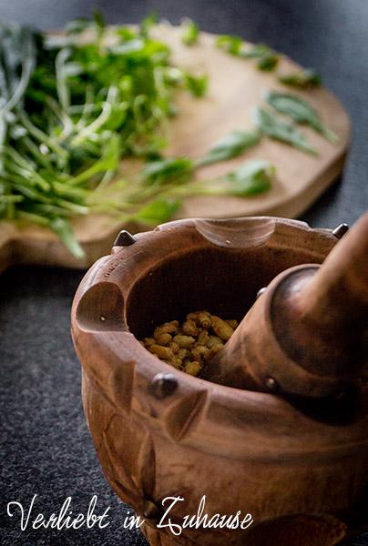 Blog Dinner im März: Kräuterküche -Rezepte mit Kräutern, Sprossen und Blüten
