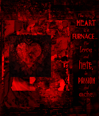 The Heart Furnace Copyright 2016 Christopher V. DeRobertis. All rights reserved. insilentpassage.com