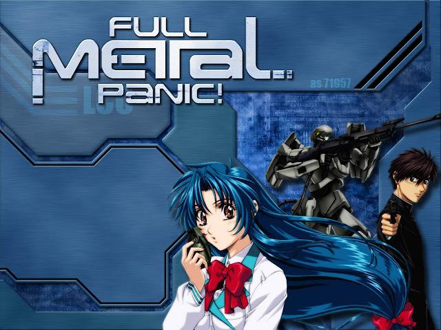 Full Metal Panic! (24/24) (94MB) (HDL) (Sub Español) (Mega)