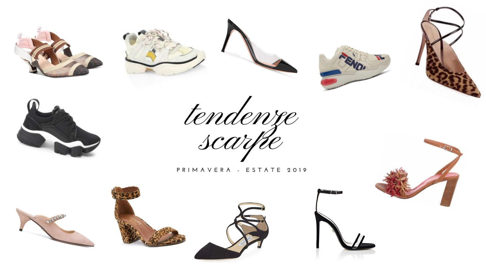 tendenze scarpe primavera -estate 2019, fashion need, Valentina Rago, fashion blog milano
