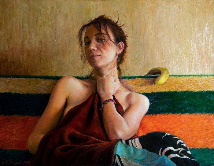 Армянский художник. Levon Avagyan