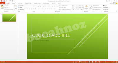 Preview Image dari Ms. Office 2013 Terbaru