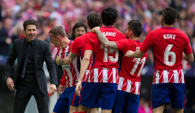فوز باريس سلن جيرمان على اتلتيكو مدريد بثلاث اهداف لهدفين