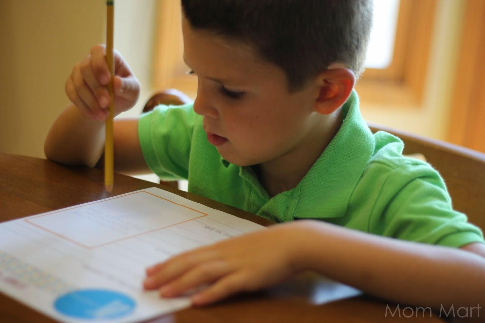 Mom Mart Free Back To School Printables For Preschool