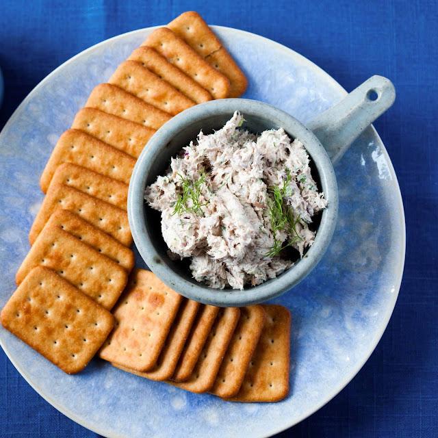 Pasta z tuńczyka do krakersów