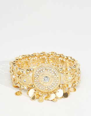 The Best Jewellery Buys from the High Street this SS16 - River Island - Festival Stretch Arm Cuff - £14.00