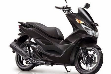 New Honda PCX 150 Matte Black