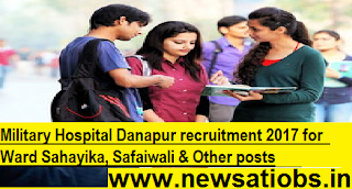 Military-Hospital-Danapur-recruitment-2017-for-Ward-Sahayika