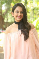 Rakul Preet Singh in lovely Pink Crop Top and Black Trousers at Jaya Janaki Nayaka success meet 027.JPG