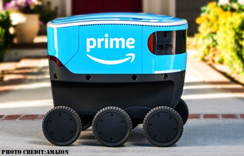 Amazon-Delivery-through-robots-in-Washington-state