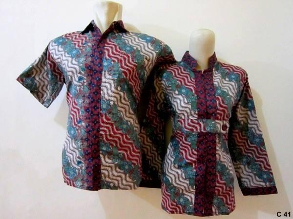 15 Model Baju Batik Guru Modis 2019 Desain Modern 1000