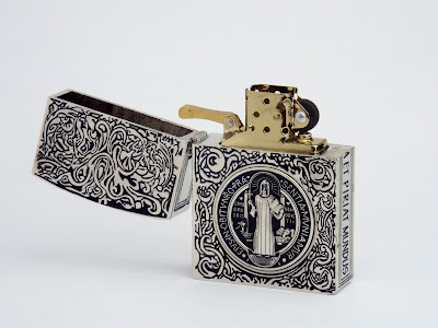 コンスタンティン ZIPPO ライター ムービーサイズ レプリカ DSCF5950